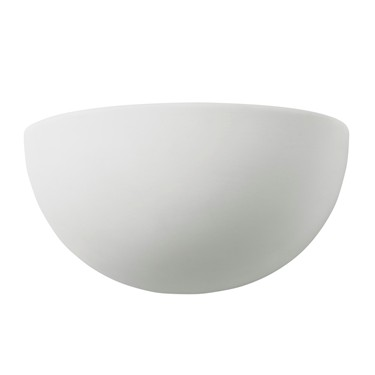 Endon Pride Half Moon Wall Light - White