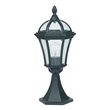 Endon Drayton Outdoor Post Light - Black - IP44