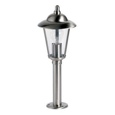 Endon Klien Outdoor Post Light - Polished Stainless Steel - IP44