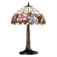 Lily Medium Tiffany Style Stained Glass Table Lamp