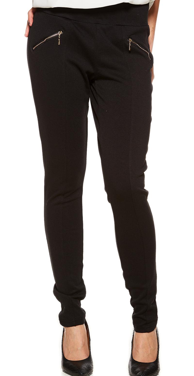 sorte bukser med stretch