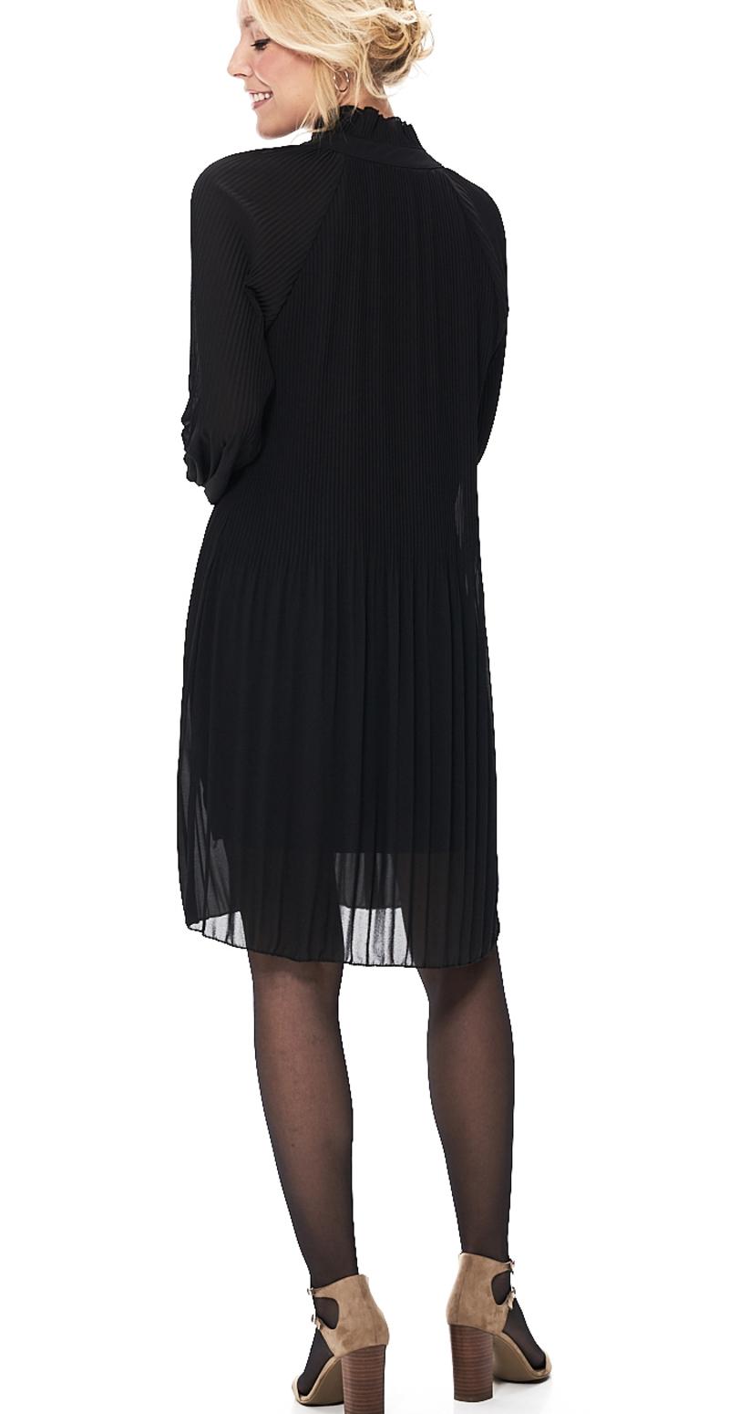 lang plisseret kjole