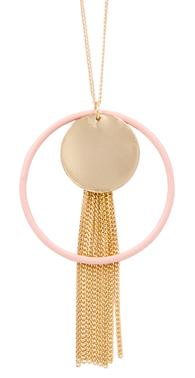 Plade og rosa ring