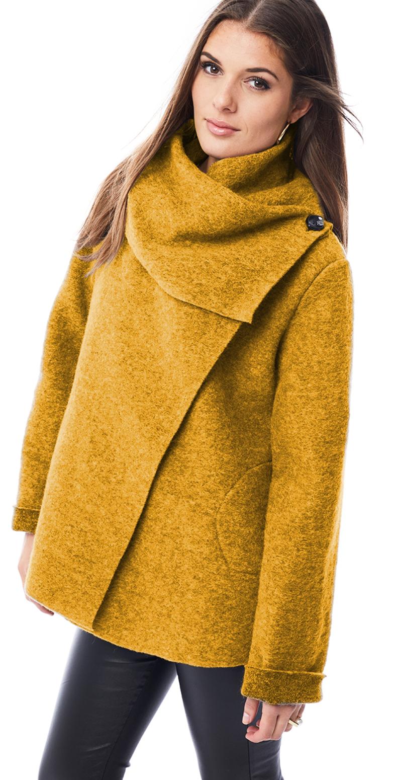 karrygul jakke