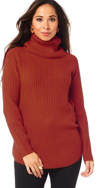 Nora tunic rust