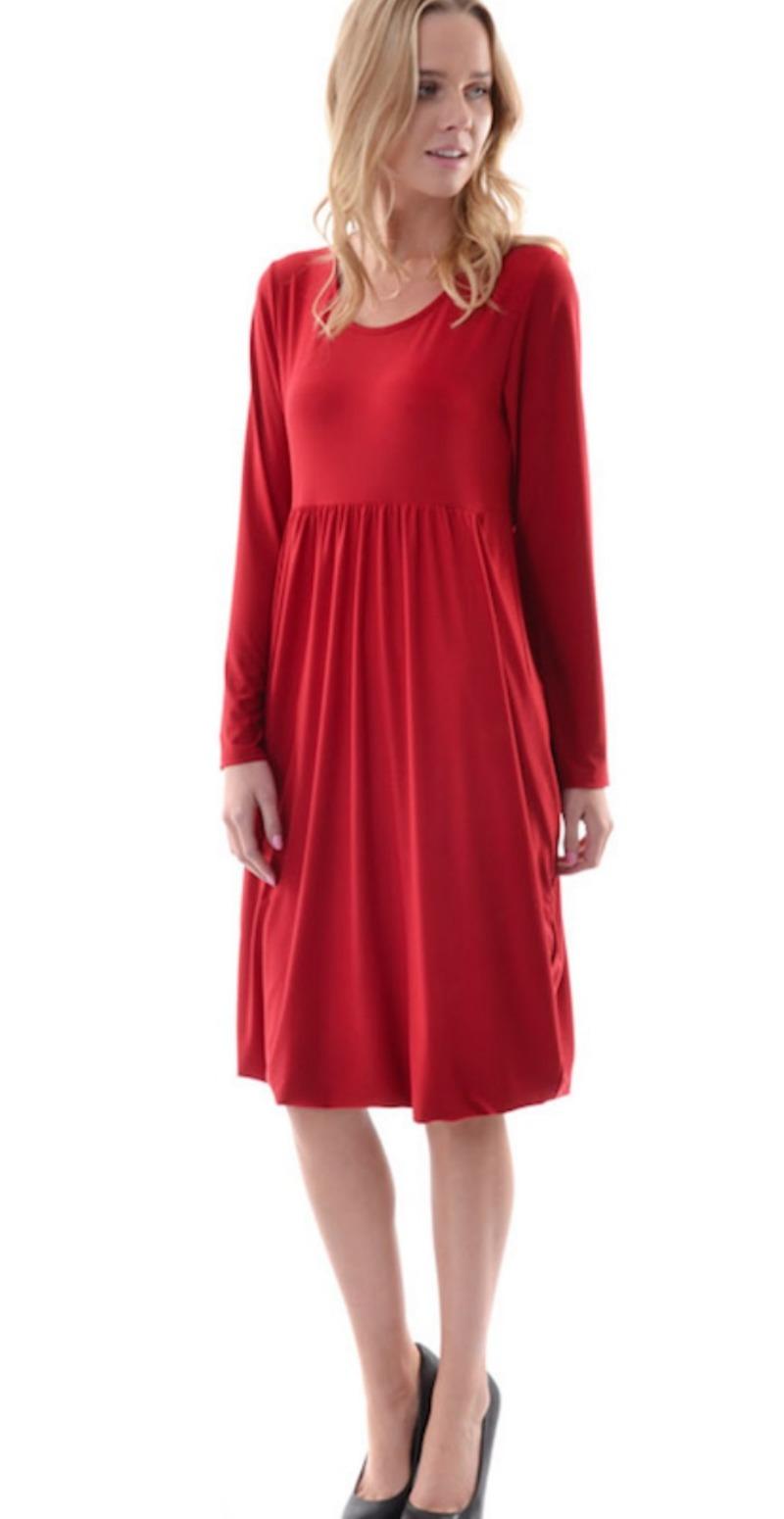 rød kjole xxl