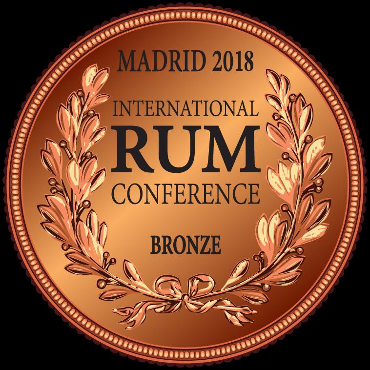 caption=Medalha de bronze!! International Rum Conference, Madrid; class=medalha; alt=Medalha