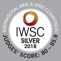 caption=Medalha de Prata!! International Wine & Spirit Competition 2018; class=medalha; alt=Medalha