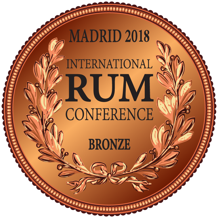 caption=Medalha de Bronze !! International Rum Conference Madrid 2018; class=medalha; alt=Medalha