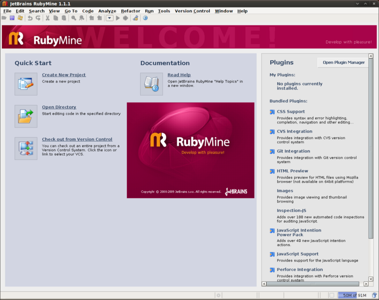RubyMine for Linux 2021.1.3 full