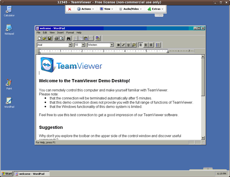 TeamViewer / Linux utilities applications / LinApp / LinApp
