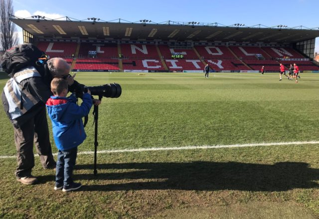 Junior Takeover Day at Lincoln City FC is back!