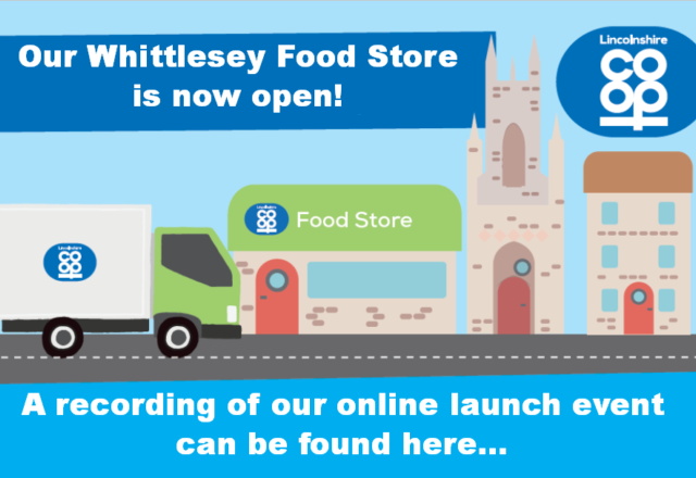 Whittlesey Food Store launch event