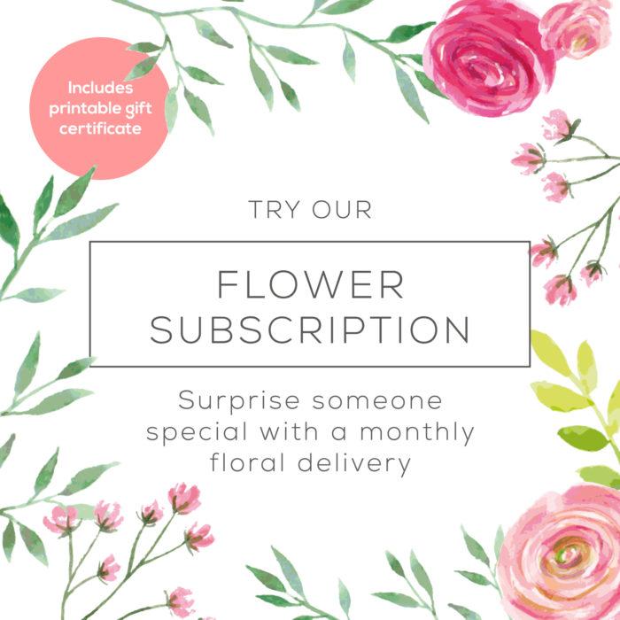 Florist Subscription Square