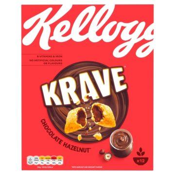 Kellogg's Krave Hazelnut 375g
