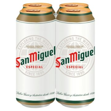 San Miguel Cans 4x440ml