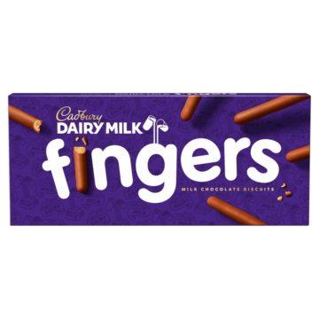 Cadbury Milk Fingers 114g
