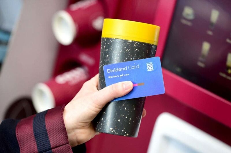 Costa 25P Dividend Reusable Cup And Dividend Card Web