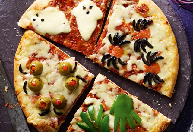 Petrifying pizza