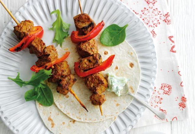Recipe: Spiced beef kebabs