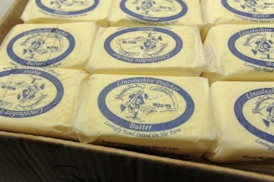 Lincolnshire Poacher Hand Made Butter