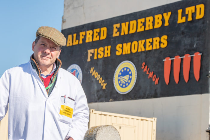 Patrick-Salmon-in-front-of-Alfred-Enderby.jpg