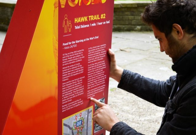 We're supporting the 100 Voices Trail