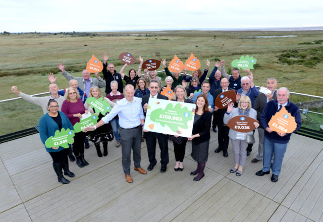 Local green groups get gigantic donation