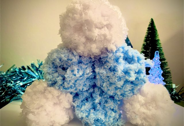 Make your own snowballs!