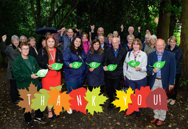 £126,600 raised to help green spaces grow