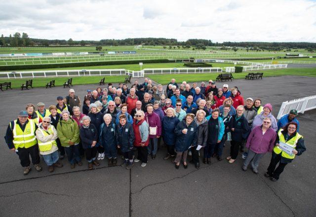 Volunteers honoured for stepping up
