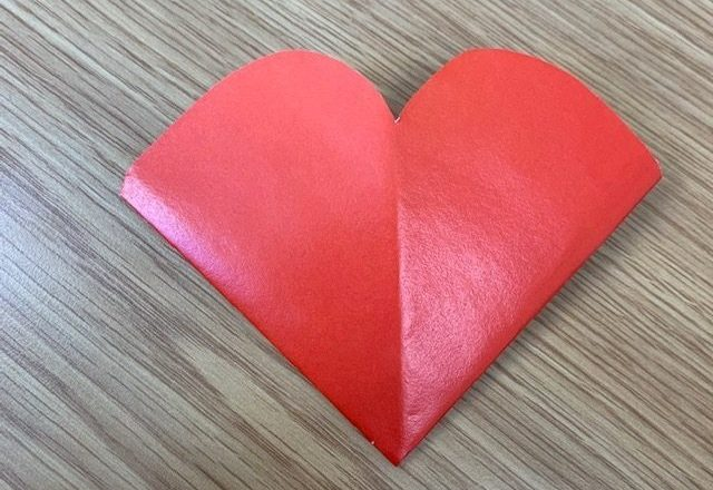 Learn how to make this cute love heart bookmark!