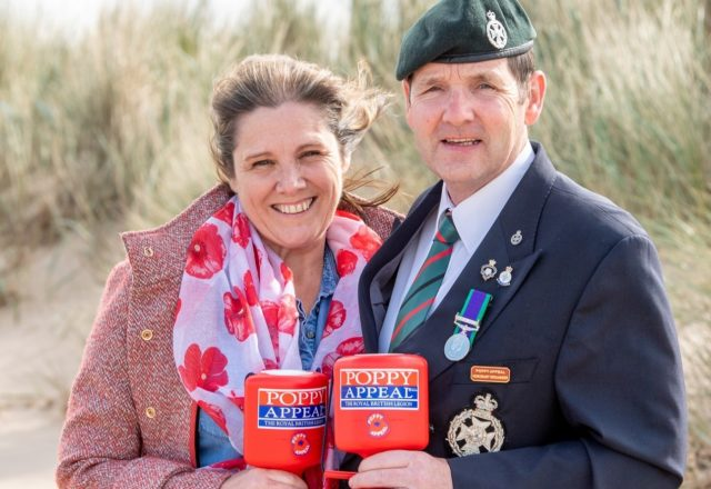 We get up every day to support Royal British Legion because we know it works