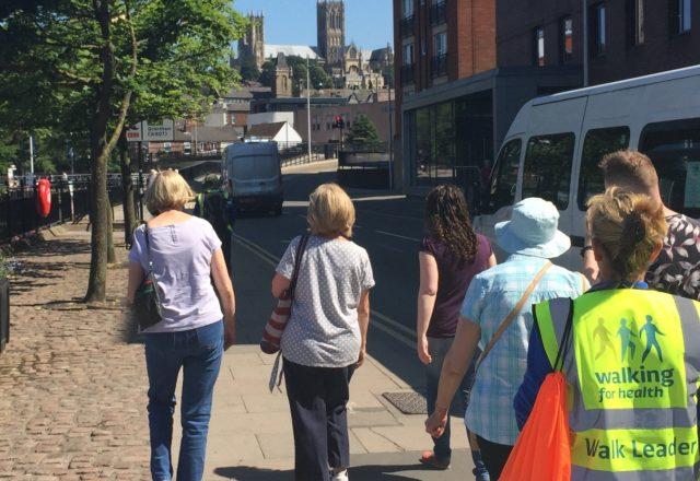 New health walk comes to Lincoln