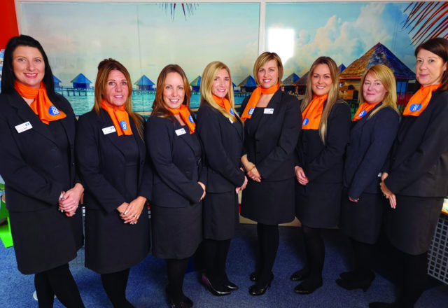 Travel agents voyage to new branch