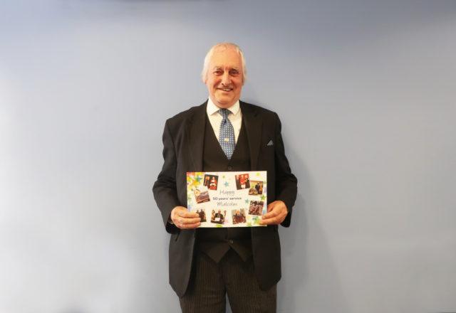 Malcolm celebrates 50-year milestone