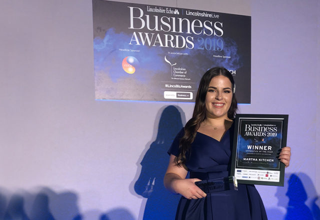 Stellar colleague Martha is Apprentice of the Year