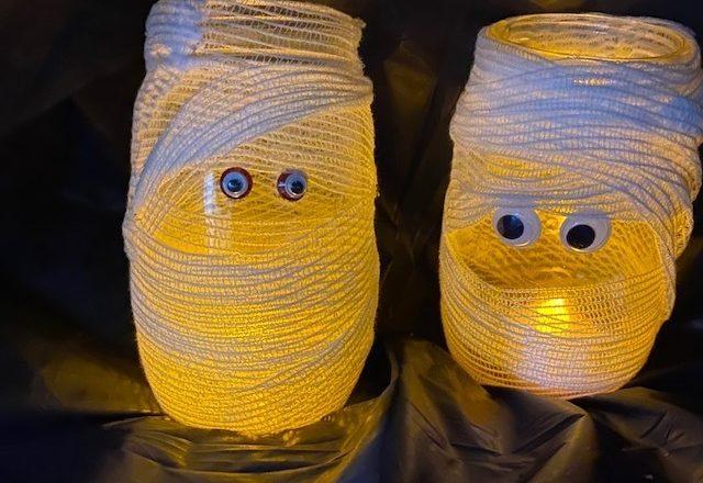 Mons-terrific mummy lanterns