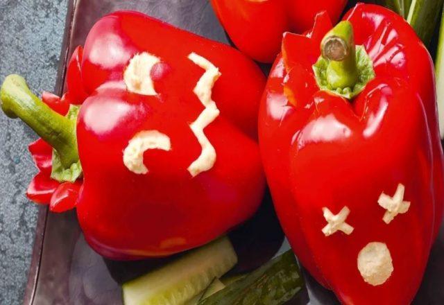 Petrified peppers (V) (GF)