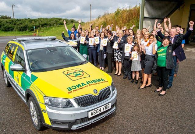 Six figure funding lift for air ambulance