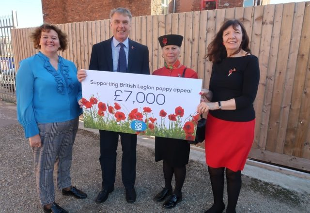 Extra support for Poppy Appeal