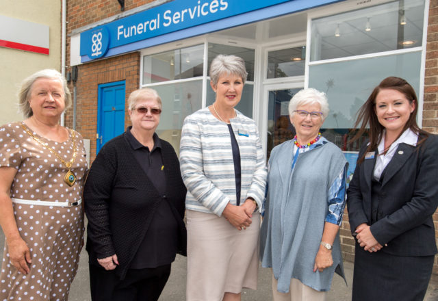 Funeral home donations boost good causes