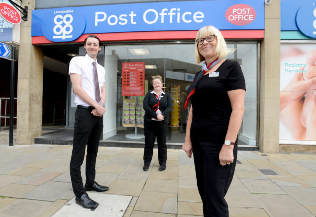 Gainsborough Post Office ready to serve