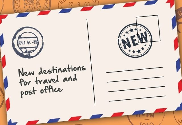 Travel and post office on the move