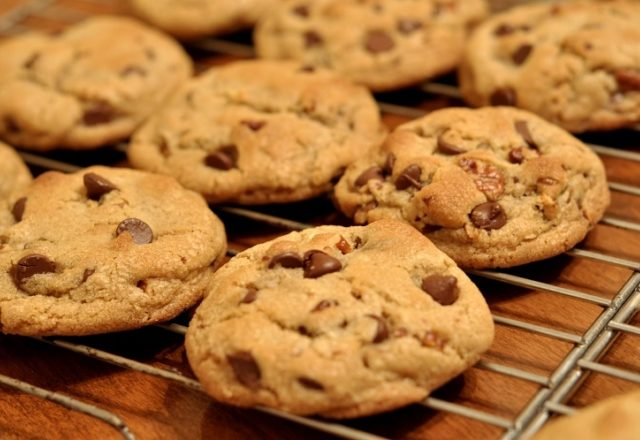 Fairtrade banana and choc chip cookies