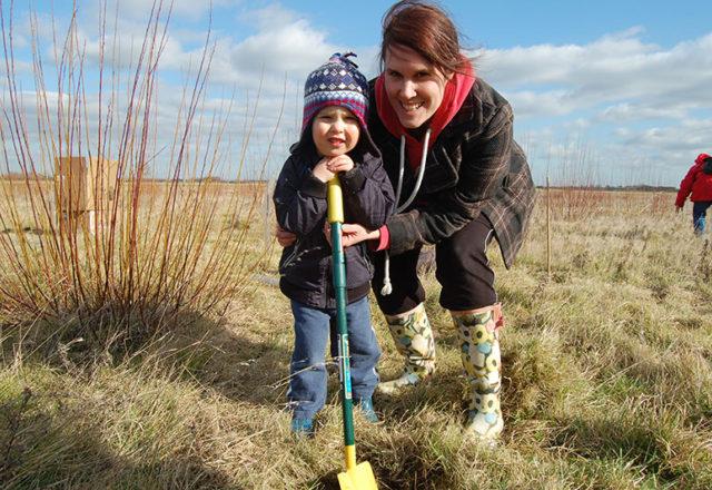 Help community woodlands grow