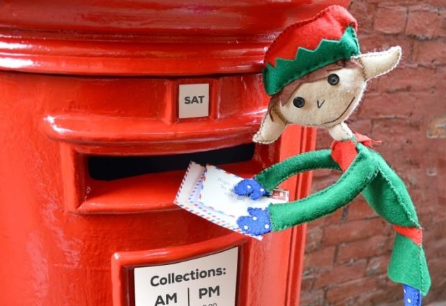 Christmas posting dates and parcel collections