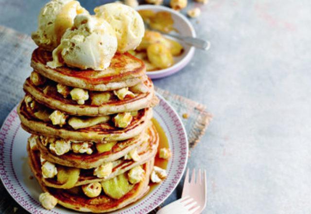 Freak shake pancake stack (V)