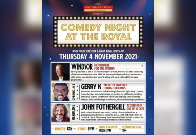 Save over 35% on Comedy Night at the Royal tickets image