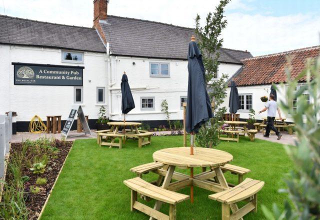Free hot beverage or soft drink at The Royal Oak, Collingham image